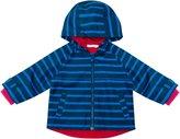 Jo-Jo JoJo Maman Bebe Summer Rain Jacket (Baby) - Navy/Cobalt Stripe-18-24 Months