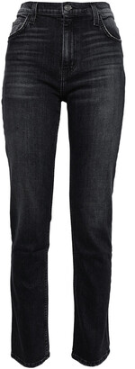 Current/Elliott The Stovepipe Torpedo High-rise Slim-leg Jeans