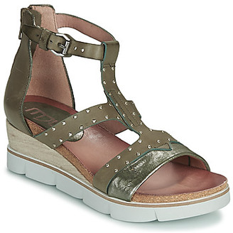 Mjus TAPASITA women's Sandals in Kaki