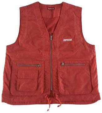 Supreme Orange Polyester Jackets