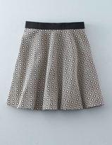 Boden Floral Jacquard Skirt