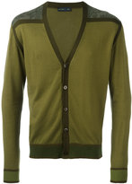 Etro contrast cardigan - men - Cotton - M