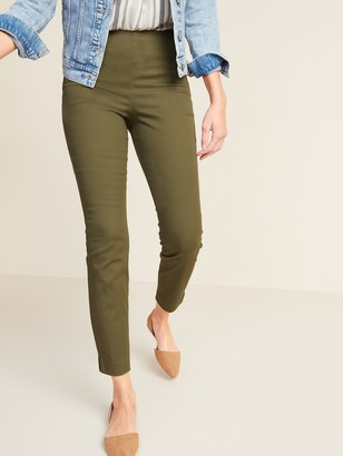 Old Navy High-Waisted Twill Super Skinny Ankle Pants for Women