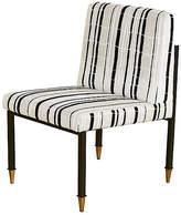 Selamat Sydney Side Chair - Ivory/Black Velvet