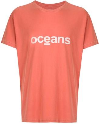 OSKLEN Stone Over Oceans print T-shirt