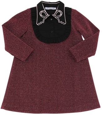 VIVETTA Embroidered Lurex Dress