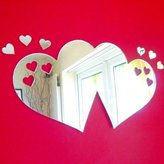Super Cool Creations Hearts out of Love Hearts Mirrors