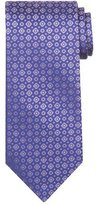 Stefano Ricci Tonal Circle & Square Silk Tie