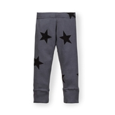 NUNUNU - Kid's Stars Legging - Charcoal