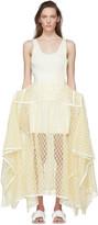 Loewe Yellow Lace Basque Skirt