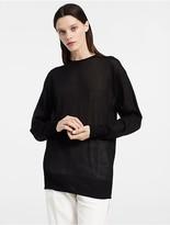 Calvin Klein Extrafine Cashmere Oversized Sweater