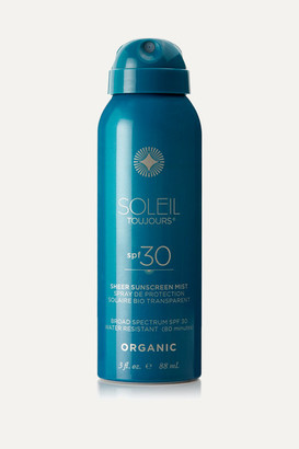 Soleil Toujours + Net Sustain Spf30 Organic Sheer Sunscreen Mist, 88ml - one size