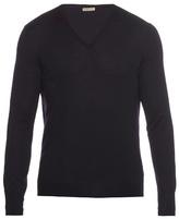 Bottega Veneta V-neck Wool Sweater