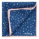 Thomas Pink Liv Triangle Print Pocket Square
