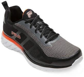 Fila Memory Diskize Mens Lace-up Running Shoes