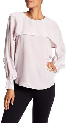 Ro & De Popover Split Sleeve Blouse