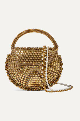 Mae Cassidy - The Malini Embellished Gold-tone Tote - One size