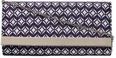 Dorothy Perkins Blue tile print clutch bag