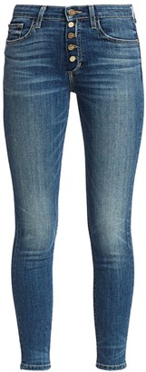 Joe's Jeans Charlie High-Rise Cropped Skinny Jeans