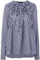 Cédric Charlier gingham blouse