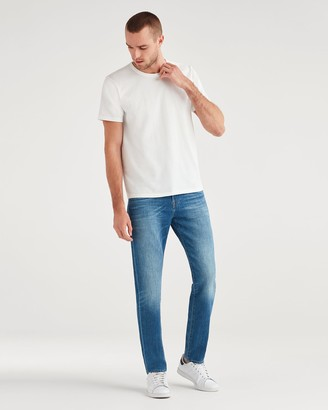 7 For All Mankind Series 7 Skinny Ryley with Clean Pocket in Aficionado