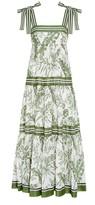 Zimmermann Empire Tie Shoulder Dress
