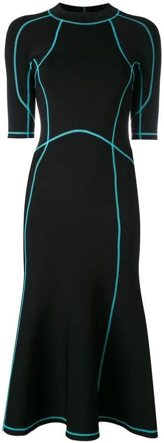 Alexander Wang lace-up scuba dress
