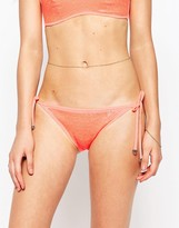 Butterfly by Matthew Williamson Sequin Bikini Bottoms