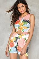 Nasty Gal nastygal Spring for It Floral Romper