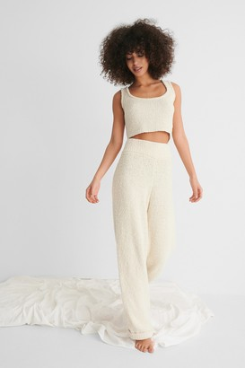 NA-KD Fluffy Knitted Trousers