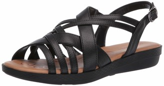Easy Street Shoes womens Flat Sandal