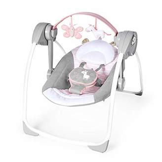 Ingenuity Comfort 2 Go Portable Swing - Flora The Unicorn, 1.85 kg
