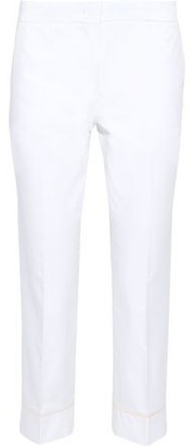Emilio Pucci Cropped Cotton-poplin Slim-leg Pants