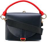 Sacai Bicolour bag - women - Leather - One Size