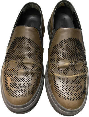 Alexander McQueen Brown Leather Lace ups