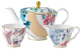 Wedgwood Butterfly Blm Tpot/Sug/Crm