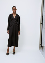Jil Sander black clamour dress