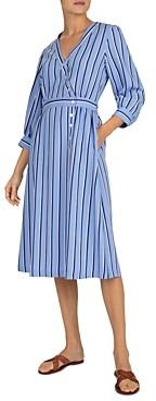 Gerard Darel Sandy Striped Midi Dress