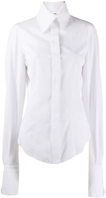 Gianfranco Ferré Pre-Owned 1990s Concealed Fastening Shirt