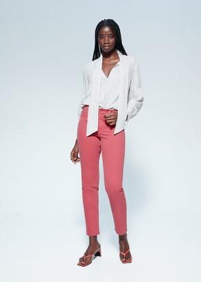 MANGO Violeta BY Slim-fit Julia jeans orange - 10 - Plus sizes