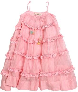 Péro Long Cotton Muslin Dress