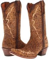 Lucchese M5040 (Camel Tan Cheetah) - Footwear