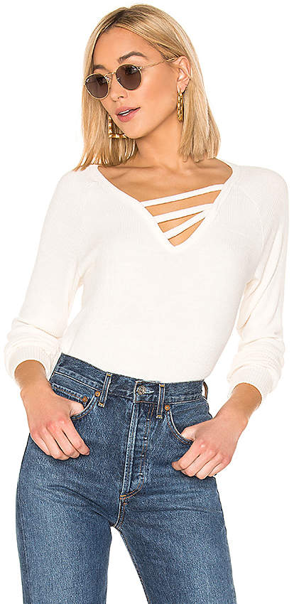 LnA Vine Slub Sweater