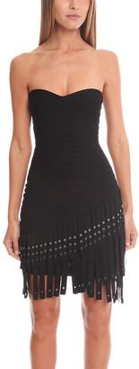 Herve Leger Belina Knit Cocktail Dress
