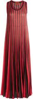 Missoni Pleated crochet-knit maxi dress