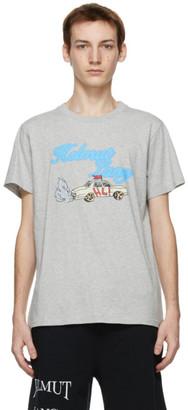 Helmut Lang Grey Saintwoods Edition HL Taxi T-Shirt