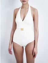 Melissa Odabash Dominica halterneck swimsuit