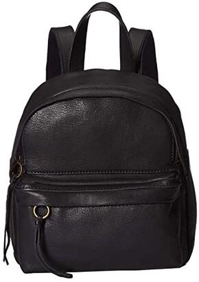 Madewell Mini Lorimer Backpack (True Black) Backpack Bags