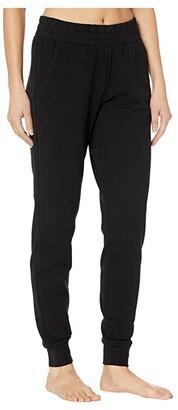 Alo Unwind Sweatpants (Black) Women's Casual Pants