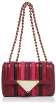 Sara Battaglia Elizabeth Small Leather Shoulder Bag
